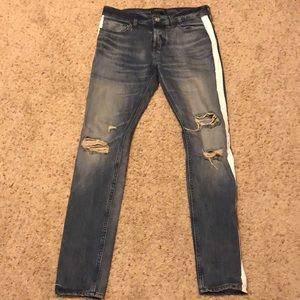 New Dark Blue PacSun Denim Jeans 30x30